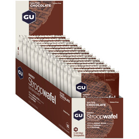 GU Energy StroopWafel Box 16x30/32g Salted Chocolate